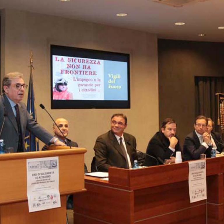 Intervento del Presidente dell'ANFACI Prefetto Bruno Frattasi